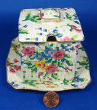 Royal Winton Grimwades Chintz Jam Jar Lid Tray Queen Anne Chintz