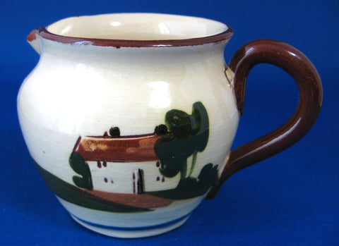 Motto Ware Pitcher 1940s Jug Too Many Cooks Spoil The Broth Mottoware