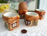 Eggcups 4 Cottage Ware Price Kensington England Egg Cup 1950s Kitsch