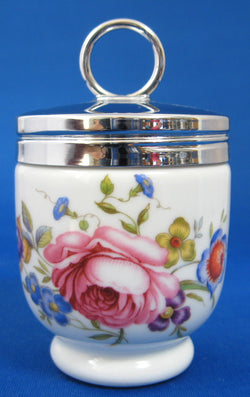 Egg Coddler Royal Worcester Bournemouth Floral Single 1950-1960s