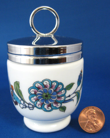 Egg Coddler Royal Worcester Palmyra Floral Single Size 1950-1960s
