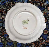 Shelley England Maytime Chintz Ashtray Yellow Trim 1940s Dish