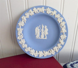 Wedgwood Blue Jasper Jasperware Dish Nike And The Warrior 1959 Small Plate