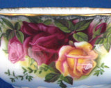 Creamer And Sugar Old Country Roses Royal Albert English 1960s