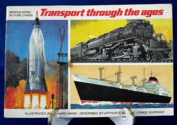 Trading Cards Tea Card Album PG Tips Transport Thru Ages Brooke Bond Album Only 1966