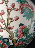 Tea Caddy Masons England Indian Peony Ironstone 1970s Ginger Jar