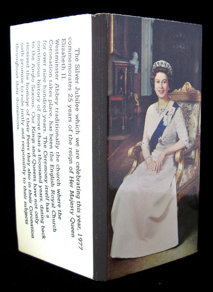 Commemorative Matchbook Queen Elizabeth II Jubilee 1977 Unused Tobacciana