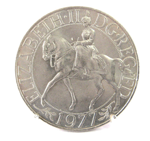 Commemorative Coin Queen Elizabeth II Jubilee 1977 Crown