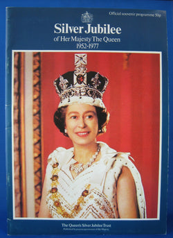 Program Queen Elizabeth II Silver Jubilee Celebration 1977 Programme
