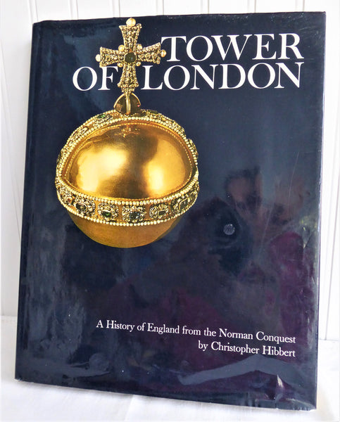Book Tower Of London History Coffee Table Book 1978 Hardback With Dust Illustrated