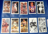 Tea Card Set Olympic Greats Brooke Bond 1979 Full Set 40 Full Set Archival Sleeve