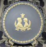 Wedgwood Charles And Diana 8 Inch Wedding Plate Jasper Mint In Box 1981