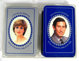 Playing Cards Princess Diana And Prince Charles Wedding 1981 Double Deck