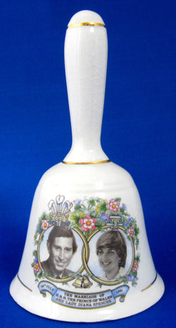Bell 1981 Royal Wedding Prince Charles and Princess Diana Di Hostess Royal Souvenir