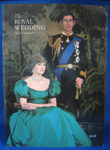 Charles Diana Royal Wedding Programme Fab Photos 1981 US Canadian Market
