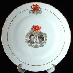 Charles and Diana 1981 Royal Wedding plate