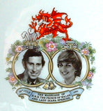 Plate Royal Wedding Charles And Diana Royal Albert 1981 Wedding Souvenir
