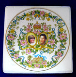 Gorgeous Large Plate Royal Wedding Charles Diana Caverswall Pretty 1981