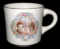Prince Charles and Princess Diana Royal Wedding 1981 Mug Canada