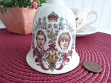 Bell Royal Wedding Prince Charles Princess Diana Lady Di 1981 Hostess Dinner Masons Ironstone