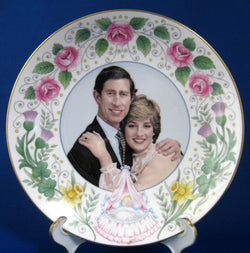 Birth Of Prince William Of Wales Plate 1982 Bone China Royal Birth Commemorative