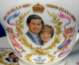 Duchess Birth Of Prince William Charles Diana Cup And Saucer 1982 Bone China
