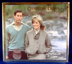 Book Charles And Diana Prince And Princess Of Wales 1982 Hardback Color Photos