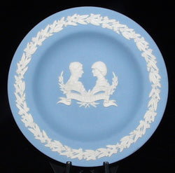 Prince Charles And Princess Diana Plate 1983 Visit To Canada Wedgwood Jasperware