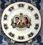 Prince Andrew And Fergie Souvenir Plate Royal Wedding 1986 Royal Commemorative