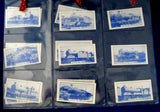 English Railway Trading Cards Set of 15 Train Engines L&NW Orbit Archival Sleeves 1986