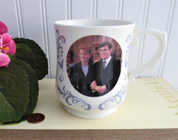 Tankard Prince Andrew And Fergie Souvenir Mug Royal Wedding 1986 Adams Royal