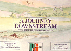 Tea Card Album PG Tips Tea A Journey Downstream Album Only Trading Card Album