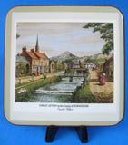 Coasters English Villages Set Of 6 Pimpernel With Box 1990s Boxed Set