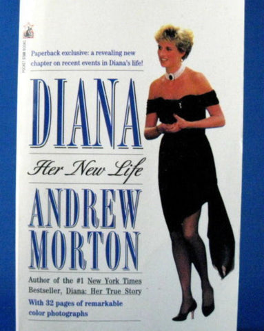 Diana Her New Life Princess Di Andrew Morten Paperback Book 1995