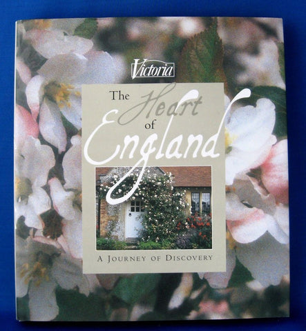 Book Victoria Magazine Heart of England Hardback Gorgeous Photos 1999 Color Photos