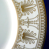 Wedgwood Lunch Plate Beresford Gold Elegant Gold And White 9 Inches