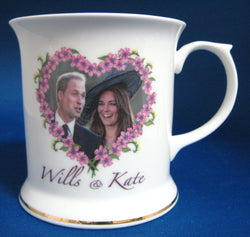 Prince William Engagement Mug Kate English Bone China 2010 Photos