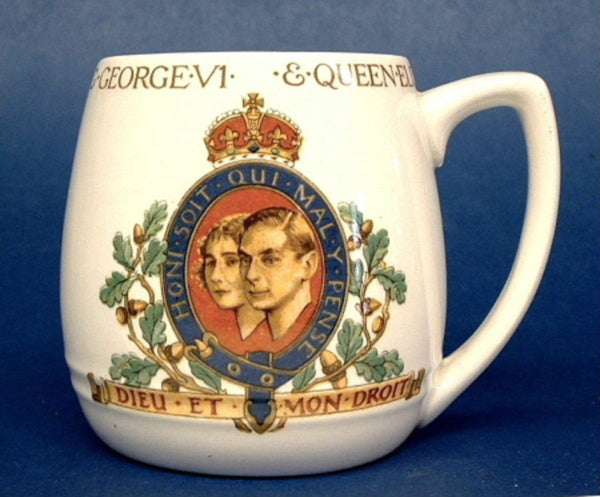 25% OFF Today! Booths Mug George VI And Elizabeth Coronation 1937 Royal Commemorative
