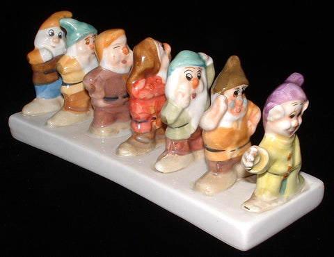 Disney Toast Rack Seven Dwarves Ceramic Holder