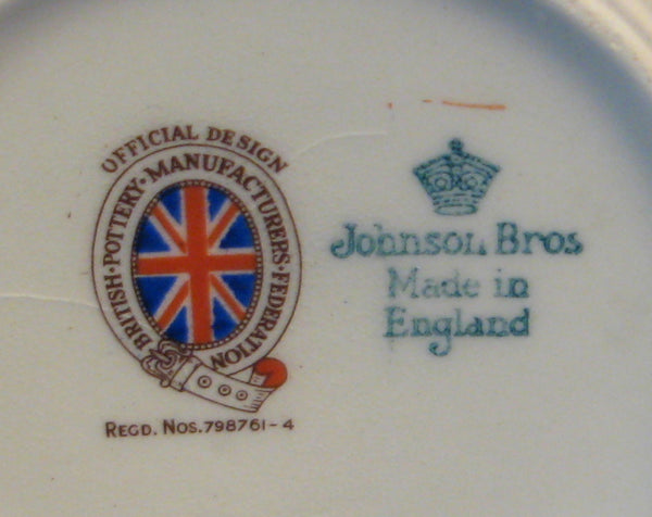 Mug Coronation Queen Elizabeth II Johnson Brothers 1953 Profile