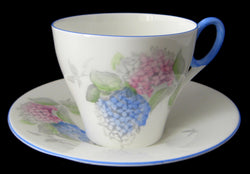 Shelley Cup And  Saucer Lilac Time Art Deco Oxford