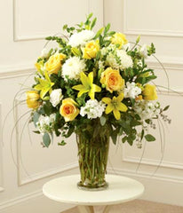 """Bright Spirit"" Flower Arrangement"
