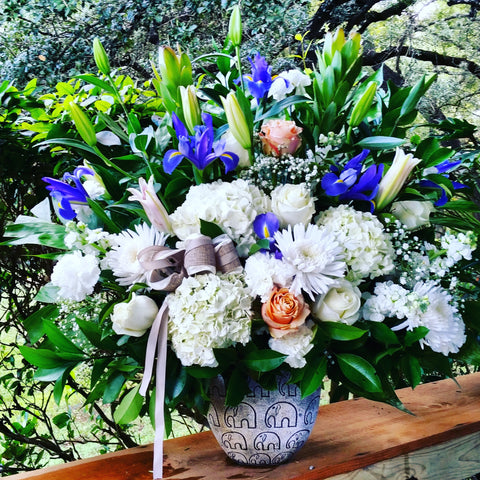 """Valley Spring"" Flower Arrangement"