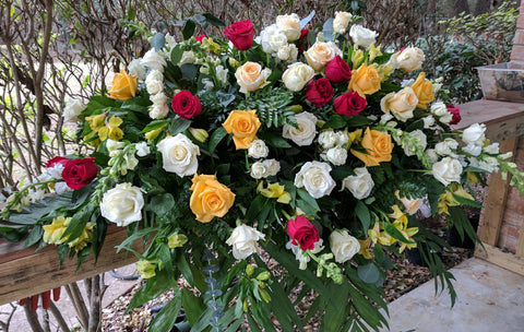 Roses Casket Spray