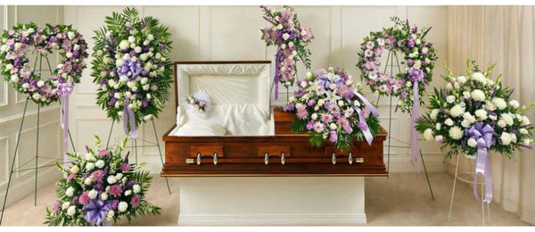 The Ultimate Package (Sprays, Cross, Casket Spray, Wreath, Basket, and more)