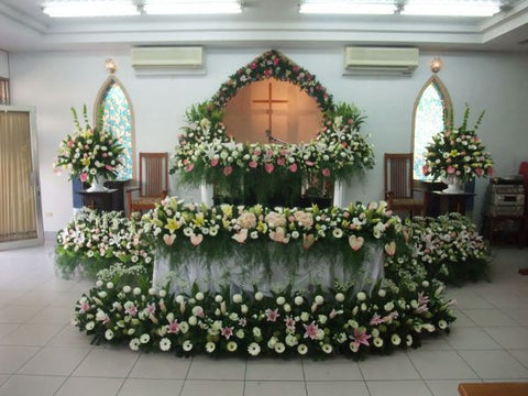 灵堂布置(Sympathy Flowers Display)