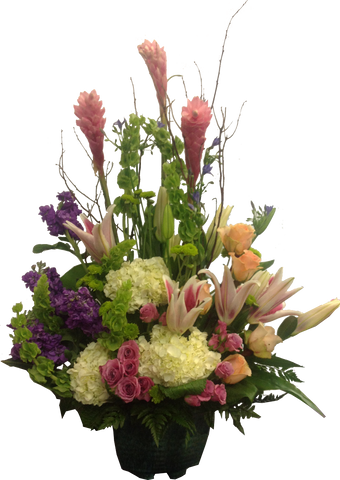 """Infinity Romance"" Flower Arrangement"