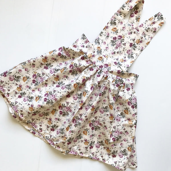 'Autumn Floral' Pinafore