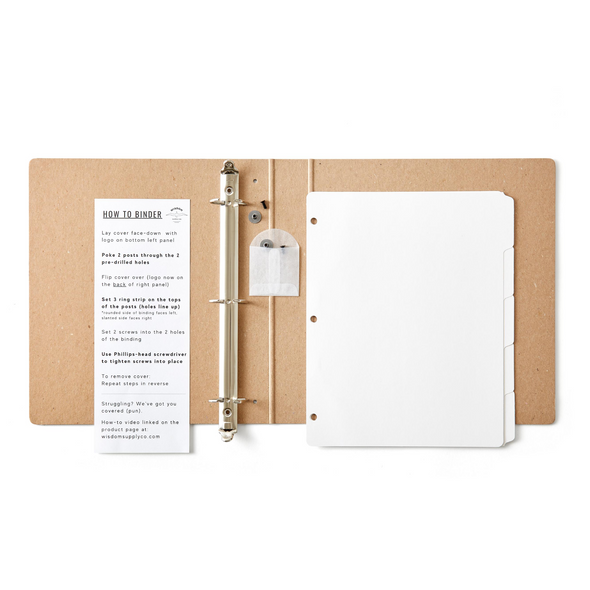 Zero-Waste Binder Kit (4555797921895)
