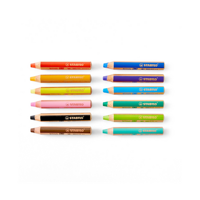 Stabilo Wax Markers + Dry Erase Crayons (3827867287655)